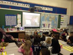 Mrs. Sarchet s Grade One Class: Skype with author Kate Messner. Great details on how to prepare younger readers for an author Skype!
