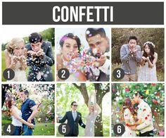 Couple Shots- confetti