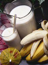 Milk-shake à la banane : Recettes de bananes | FemmesPlus