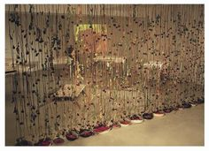 Klitsa Antoniou, Wall of Roses, part of Traces of Memory Installation, Diatopos Centre of Contemporary Art, Nicosia, Cyprus, 2002. Courtesy of the Artist.