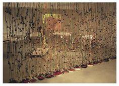 Klitsa Antoniou, Wall of Roses, part of Traces of Memory Installation, Diatopos Centre of Contemporary Art, Nicosia, Cyprus, 2002. Courtesy of the Artist.
