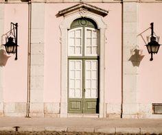 Pink Portugal   Plum Pretty Sugar  Lisbon. Pink, cream, green