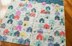Suburbs Quilt Kit - Carrie Bloomston - Windham