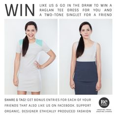 Win WIN!! Organic // Designer // Ethical fashion from ReCreate Store