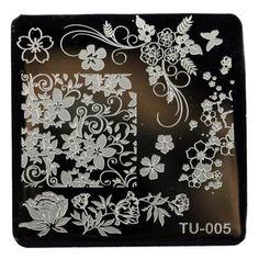 Pattern DIY Nail Art Image Stamp Stamping Plates Manicure Template 6608