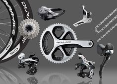 """Bike gear! Specifically, the Shimano Dura-Ace 9000 bike components,"" - Mitch Batkin, Sr. Vice-President of Fitness."