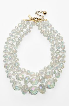 kate spade new york 'give it a swirl' statement necklace