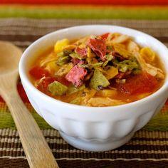 Chicken Tortilla Soup recipe | Epicurious.com