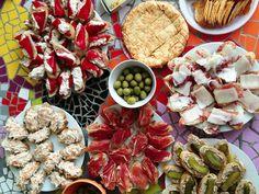 Party Snacks, International Recipes, Buffet, Cooking Recipes, Yummy Food, Cheese, Tapas Food, Blog, Diy