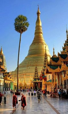 The Shwedagon Pagoda officially titled Shwedagon Zedi Daw also known in English as the Great Dagon Pagoda and the Golden Pagoda, Yangon, Asia Travel, Southeast Asia, Budget Travel, Wonders Of The World, Travel Inspiration, Spiritual, Spirituality