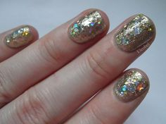 Revlon Gold Coin and Barry M Starlight