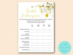 BS185-scattergories-bridal-bee-bridal-shower-honey-meant-to-bee
