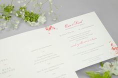 Faire-part de mariage classique #flower #engagement #amour #love #happiness #bonheur #mariée #marié #married #wedding #marriage #mariage #fairepartmariage #fairepart