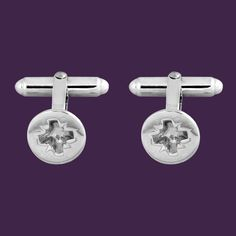 Phillips-head Screw Cufflinks Hallmarked sterling silver phillips-head screw cufflinks. From Edge Only jewellery's Everyday Icons collection www.edgeonly.com  #edgeonly #silvercufflinks