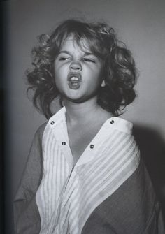 Another cute picture of Drew Barrymore