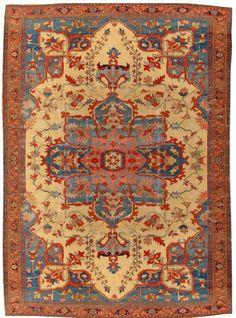 A Serapi carpet Northwest Persia size approximatelty 11ft. 6in. x 15ft, Bonhams Fine Oriental Rugs