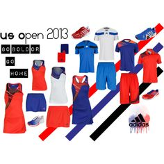 """Can't wait for the #usopen - """"adidas US Open and Series"""" by tennisexpress on Polyvore #tennis"""