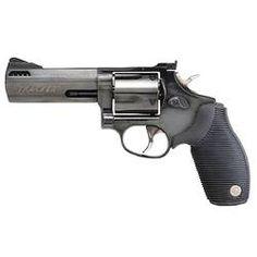 Taurus Tracker Model 44 Revolver .44 Magnum 4 Barrel 5 Rounds Black Ribber Grips Matte Blued Finish