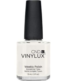 CND Vinylux Weekly Polish in Cream Puff | Mix and match them for your best spirit fingers.