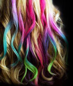 no quieres pintarte todo el cabello pintate o que te pinten mechones de colores si te gusto mi idea suscribete