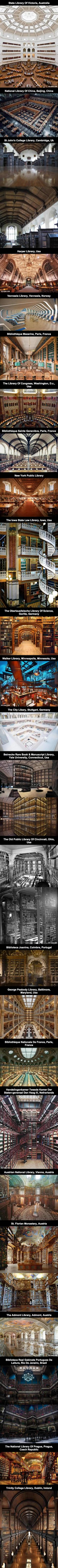 The Most Amazing Libraries In The World