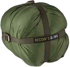 Elite Survival Systems Recon 5 Sleeping Bag Olive Drab Rated to 4 Degrees Fahrenheit Olive * You can get additional details at the image link.
