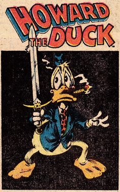 HOWARD THE DUCK - Frank Brunner (1976)