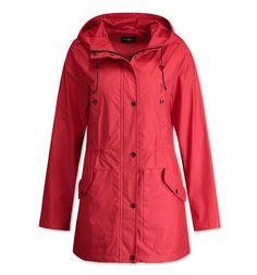Outdoor-Jacke in rot