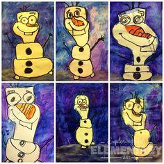 It's a Winter Wonderland - 1st Grade Olaf