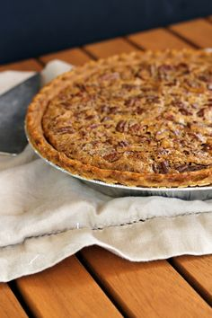 Pecan Pie (made with browned butter and NO corn syrup!)   Bakerita.com