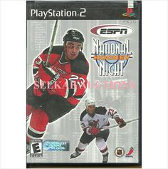 ESPN National Hockey Night Play Station 2 Video Game disc PS2 NTSC U/C Used