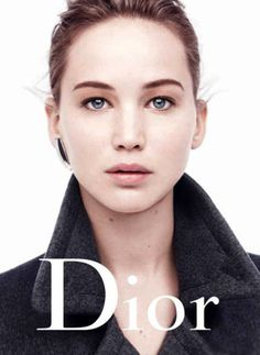 Jennifer Lawrence and Photoshop for Dior :O
