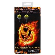The Hunger Games Movie ear buds `Bird Buds`