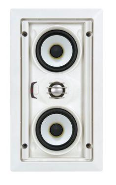 Speakercraft AIM LCR3 Three Pivoting Home Cinema Speaker - Each (White) by SpeakerCraft. $199.00