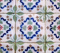 Azulejos antigos no Rio de Janeiro: Central do Brasil Ib - rua Senador Pompeu