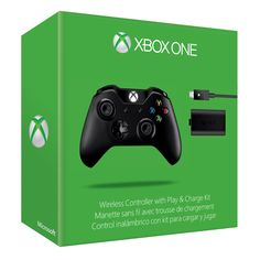 Xbox One Wireless Controller /w Play and Charge kit