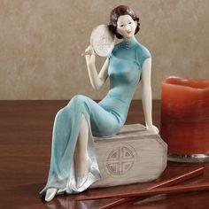 Shanghai Lady Figurine