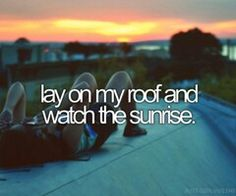 Yes!! I love going on my roof and that would be very fun