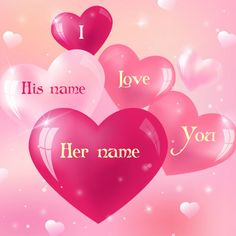 write name on love quote cards picture. write name on love greeting card. love quotes picture with name editor. write in a love card to your lover name. sweet love message and quotes for boyfriend and girlfriend. online write name Love Images With Name, Love Heart Images, I Love You Pictures, Cute Love Images, I Love Heart, Heart Pics, Colorful Pictures, Happy Valentines Day Quotes Love, Special Love Quotes