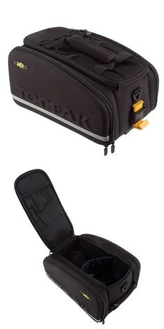 Other Bicycle Accessories 158998: Topeak Mtx Trunk Bag Exp Quicktrack Rear Rack Compatible Black Bike Bicycle -> BUY IT NOW ONLY: $99.95 on eBay!