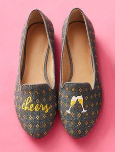 Ryan Wool Dobby Loafers-Cheers | Talbots