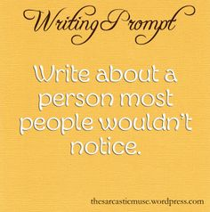 The Sarcastic Muse Writing Prompts || http://lucretiaaleron.weebly.com/2/post/2014/05/protg.html is my response