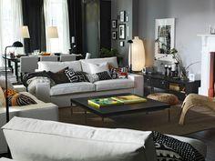 Výsledek obrázku pro living room kivik ikea