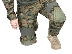 Invader Gear Predator Combat Pants, digital woodland.  #magfedpaintball #combatpants