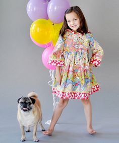 Wanted 'matching' dresses for the the wee girls, but everything is sold out. ):
