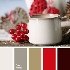 beige, burgundy, camel skin color, coffee color, color mountain echo, color of berries, color of berry jam, color of umber and khaki, colors of autumn 2018, gray, Red Color Palettes, saturated red, shades of gray, shades of gray-brown.