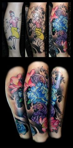 large tattoo cover up