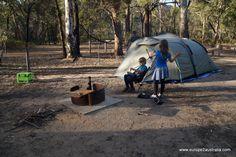 Bush camping, back tobasics