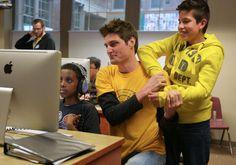 A gender gap in mentors Mentoring Partnership of Minnesota is looking to increase number of male mentors. Story by Meritte Dahl, photo by Bridget Bennett http://www.mndaily.com/news/campus/2013/05/08/gender-gap-mentors