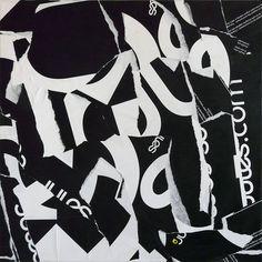 60 x 60 cm - Paper on canvas Christian Gastaldi